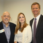 Apr 2014 - GCPRC co-founder Barry Epstein, board member Pilar Portela from Business Wire, and special speaker Bill Faries from Bloomberg News.